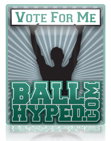 Ball Hype Badges