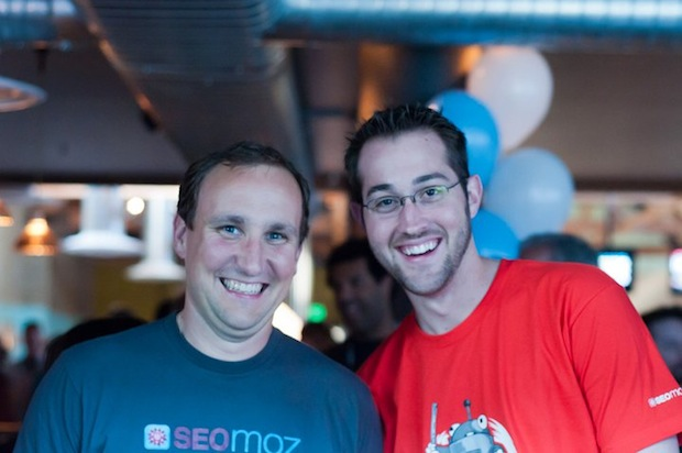 Casey and Chris at MozCon 2011