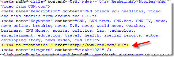 CNN Rel Canonical Example