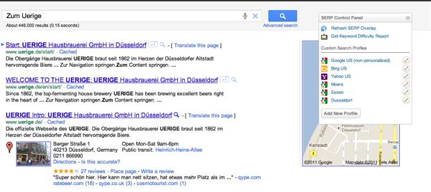 Three Custom Search Profiles, Defined