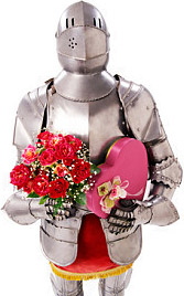 Knight with Valentine