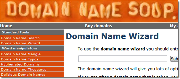 domainnamesoup.com