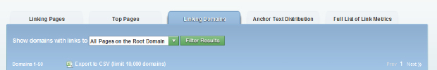Link Domains in OSE