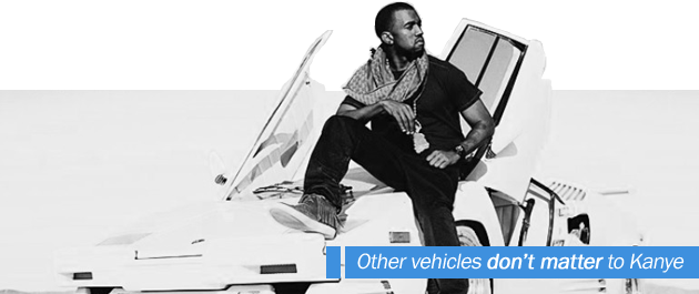 Other Vehicles Don't Matter to Kanye