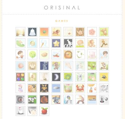 Orisinal Homepage