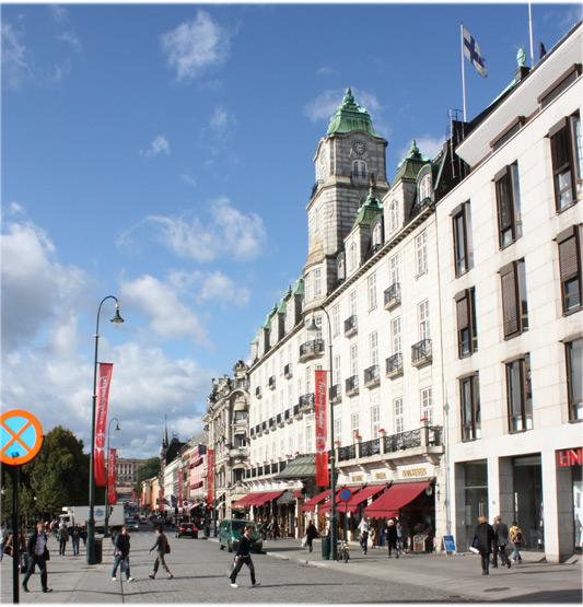 Oslo's High Street