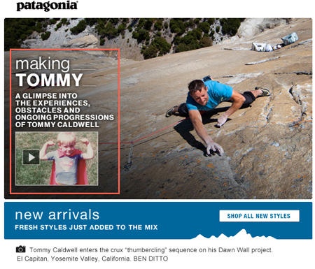 Patagonia Rock Climber Tommy