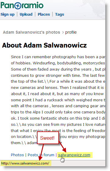 Adam Salwanowicz's Profile on Panoramio