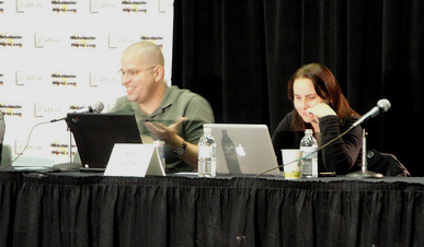 Google's Matt Cutts and Vanessa Fox of NinebyBlue on the Site Review Panel