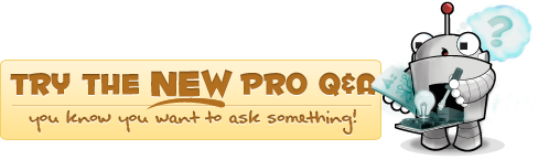 try the pro questions and answers system