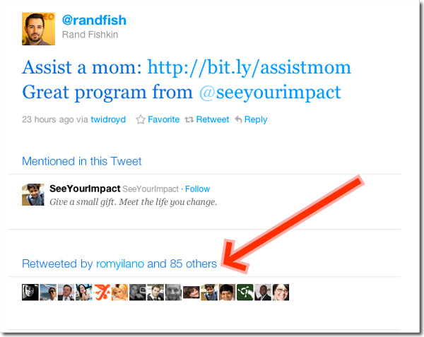 Rand Fishkin retweets