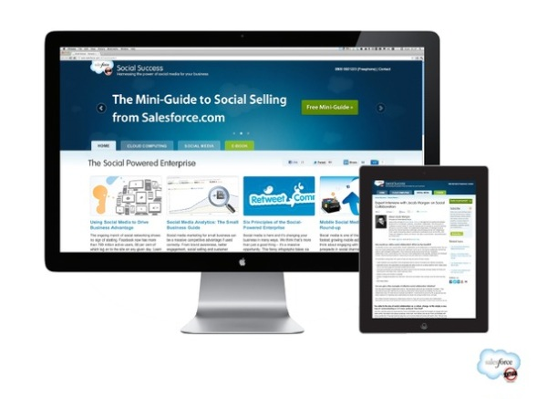 salesforce social success