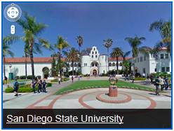 San Diego State University Street View