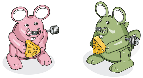 robot rodents