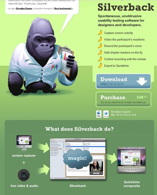 Silverback Homepage