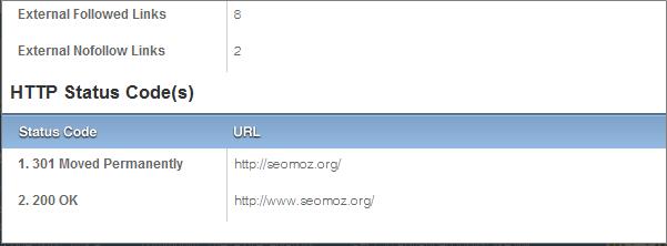 Status Code Overlay