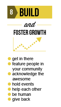 Build and foster growth