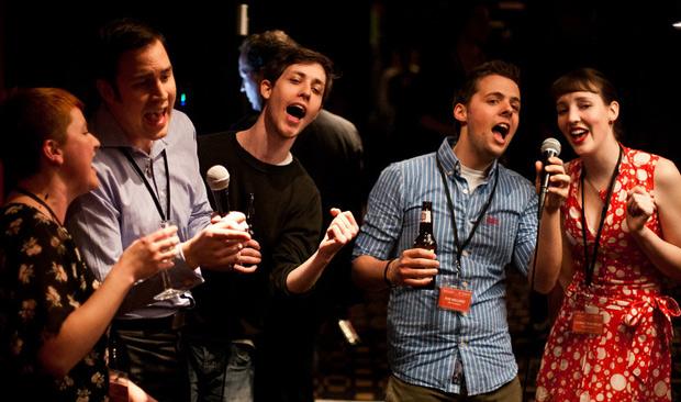 Distilled singing karaoke