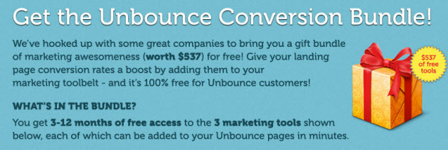 unbounce conversion bundle
