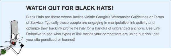 Watch out for black hats!