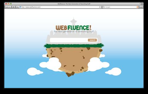 Webfluence Homepage