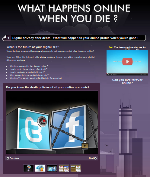What Happens Online When You Die?