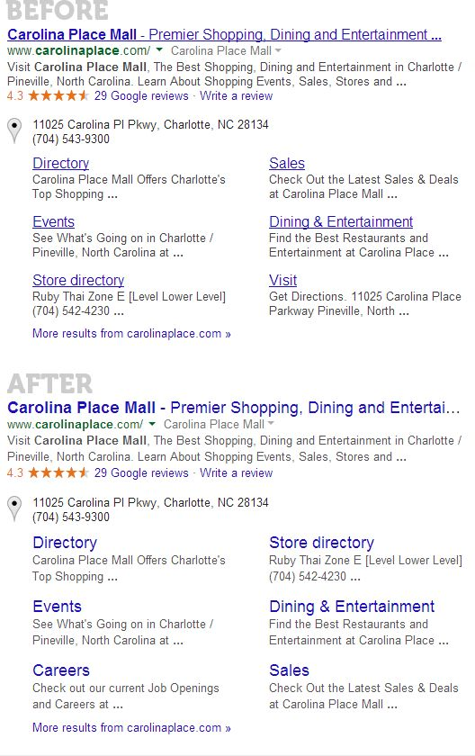 Googles 2014 Redesign Before And After Moz