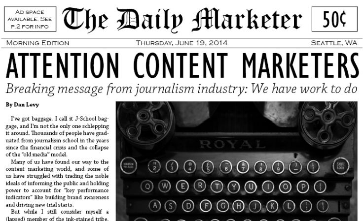 What content marketers and journalists need to learn from each other attention content marketers fandeluxe Image collections
