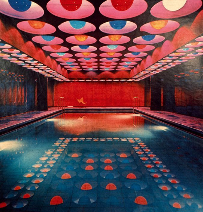 Panton Neon Swimming Pool