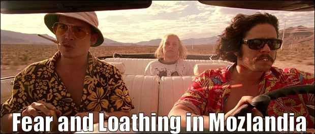 Fear and Loathing in Mozlandia