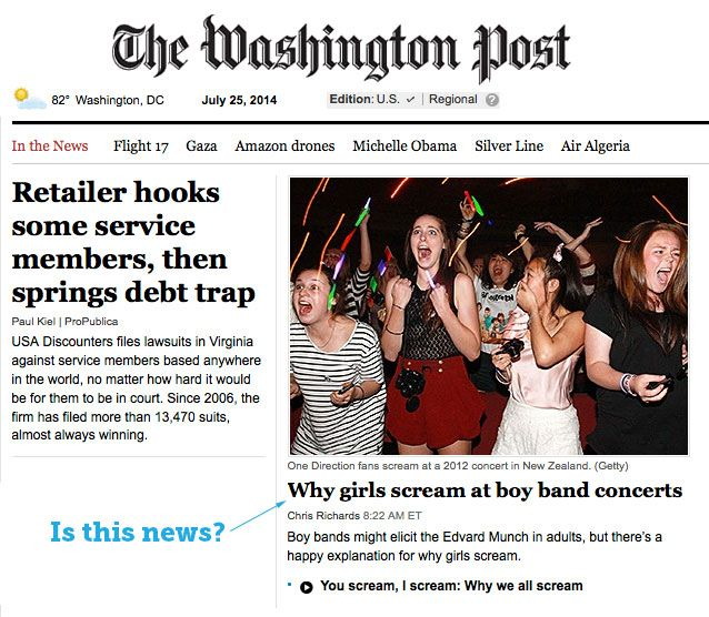 washington post headlines
