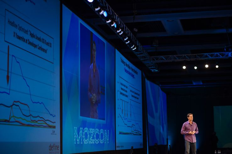 Marshall Simmonds at MozCon 2014