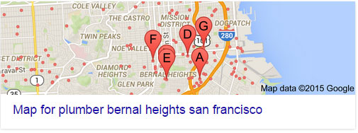local results plumber bernal heights san francisco