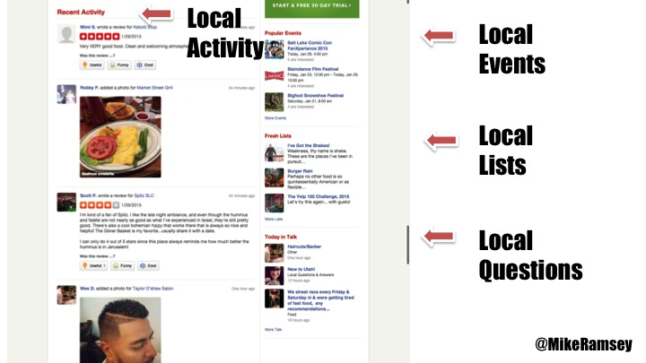 yelp main city page