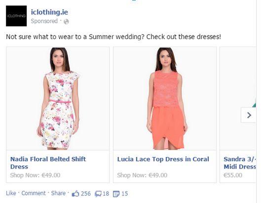 iClothing Multi Product Ad