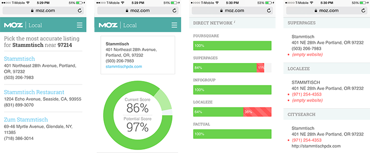 New Moz Local Distribution Partners and Mobile-Friendly