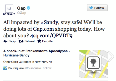 Gap just really wants you to shop