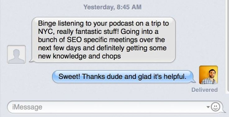 Text about podcast.