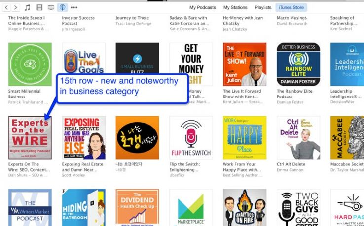 Row 15 on New and Noteworthy