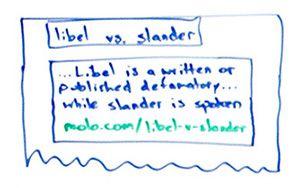 Slander textbook answers