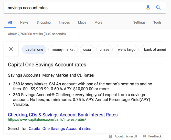 Exploring Google's New Carousel Featured Snippet 2