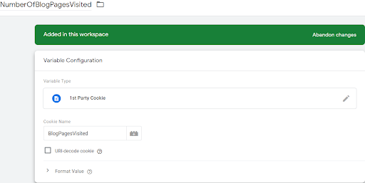 How to Set Up GTM Cookie Tracking (and Better Understand Content Engagement) 5