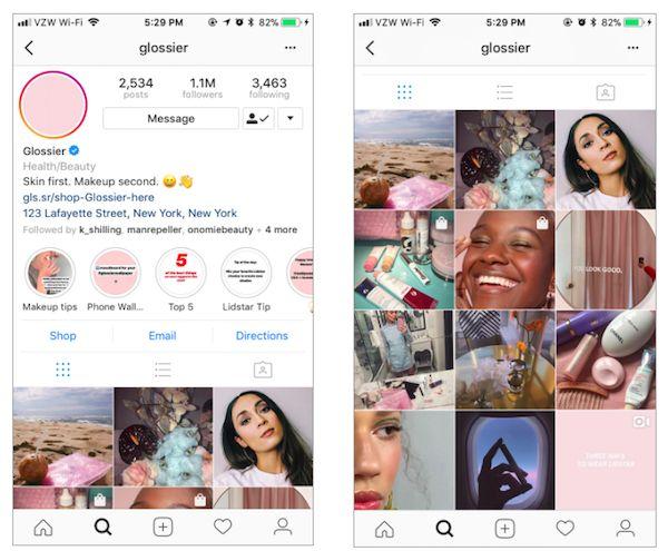 screen shot 2018 04 15 at 9 386705 - Cách sử dụng Instagram như một thương hiệu làm đẹp