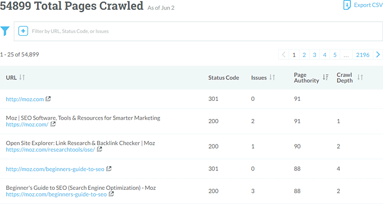 New Site Crawl: Rebuilt to Find More Issues on More Pages
