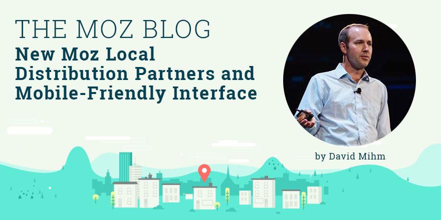 David Mihm - local search guru at Moz. Blog notification of local search ranking factors 2015