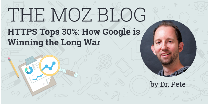 HTTPS Tops 30%: How Google Is Winning the Long War