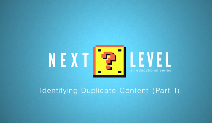 How to defeat duplicate content next level moz for Next level homes